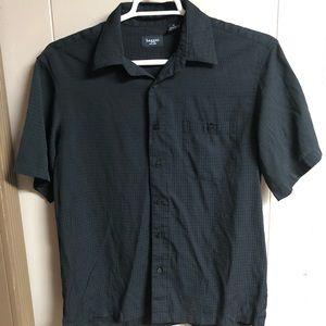 Haggar Short Sleeve Button Up Shirt